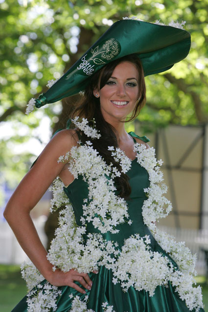 Miss England at Ascot