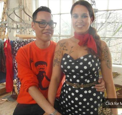 Gok and a happy makeover
